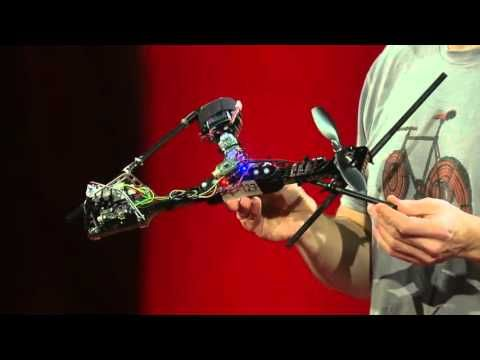 The Future of Drones Dazzles in This TED Talk   Creative Planet Network