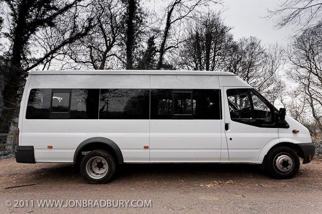 Review - Ford Transit LWB 17 Seat Minibus - Jon Bradbury