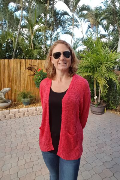 Coral Slouchy Sweater Cardigan  Looking for that super comfy cardigan you will wear with everything?  This is it!  Beautiful coral color will brighten up your wardrobe for Spring!  Size: Small 0/2/4/6, Medium 8/10, Large 12/14 100% Acrylic Hand Wash Cold/Dry Flat FREE SHIPPING!!!  Shop: