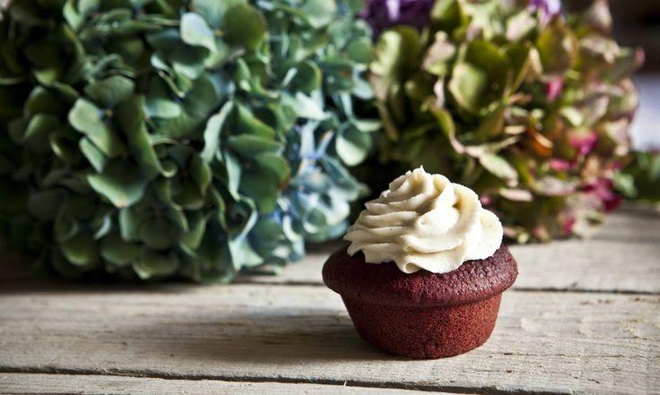 muffin červená řepa