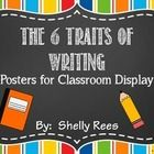 Six Traits of Writing is a staple in many teachers' approach to teaching writing.  These colorful posters are perfect for display in the classroom ...