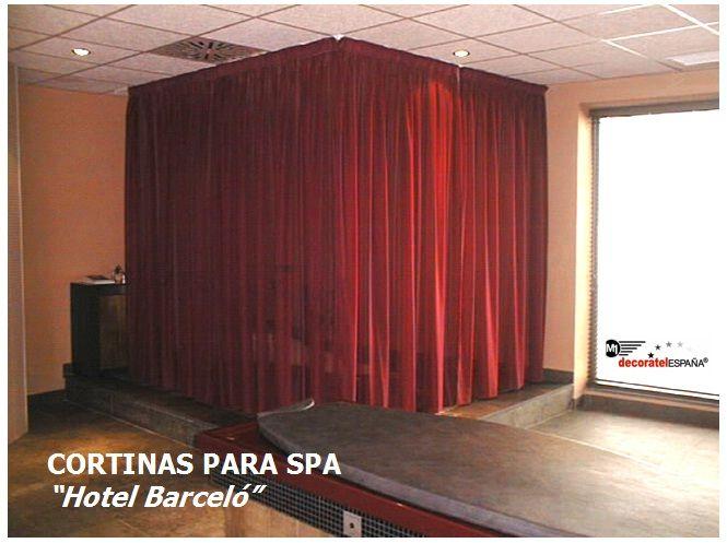 Cortinas de hotel para spa en hoteles www for Cortinas espana