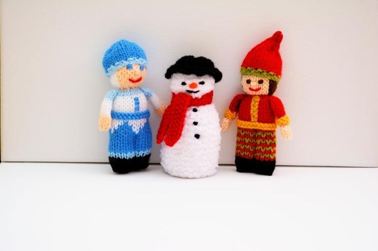 Jack Frost, Snowman & Christmas Elf Dolls | Craftsy