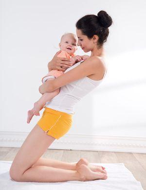Rückbildungsgymnastik: Vierte Übung