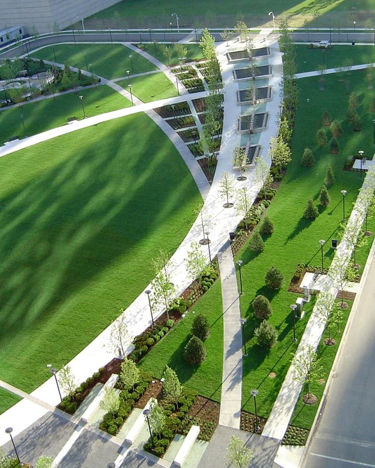 Urban Garden Design: The Landscapes Of The Office Of James Burnett (OJB). They