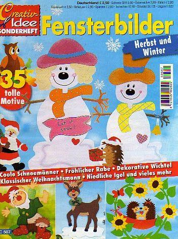 Fensterbilter Herbst und Winter - jana rakovska - Picasa Webalbumok