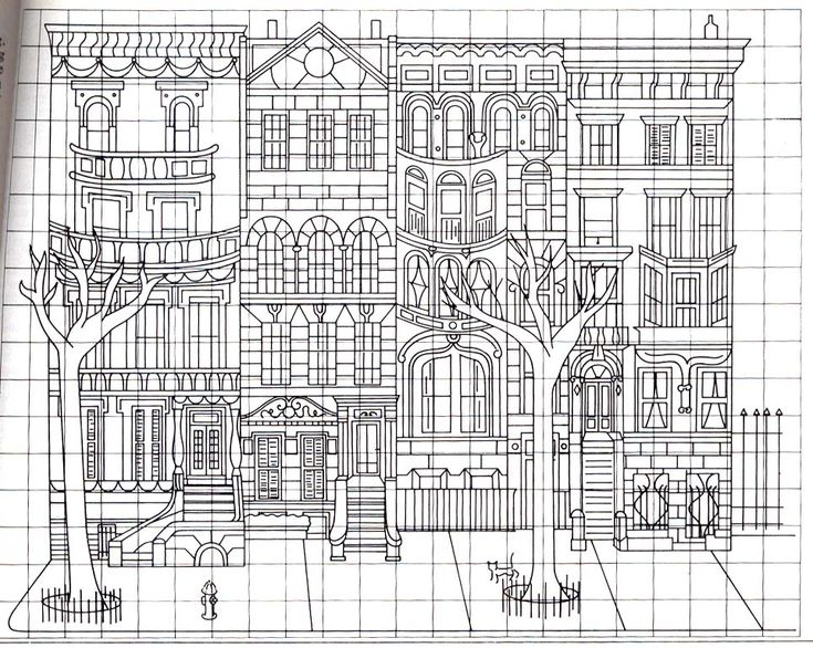 coloring pages brownstone - photo#6