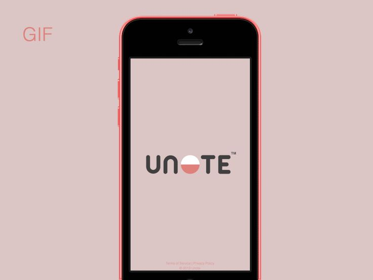 UNOTE: Slick Sign-in Animation | Flat UI Design