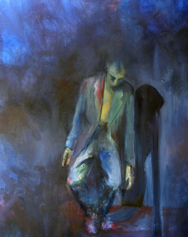 Freefall study #oiloncanvas #elias_kolivas #oilpainting #art