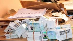 299 Nigeria's Voter Cards Retrieved From Foreigners, Says INEC Chairman