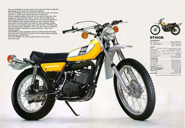 Yamaha DT400B Motocicletas yamaha, Dt yamaha, Motocicletas