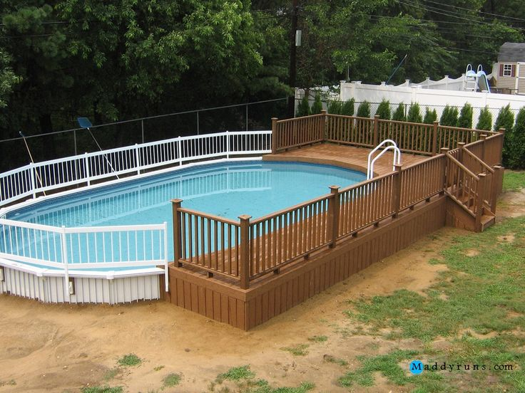 Best Above Ground Pool Ladders Ideas On Pinterest Above