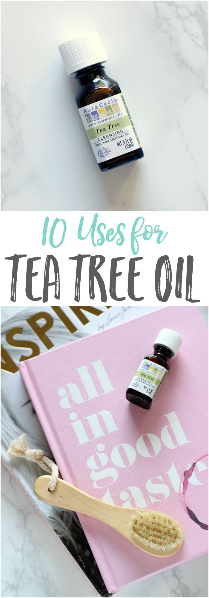 Why you NEED tea tree essential oil in your medicine cabinet and how to use it for #wellness AND around your home