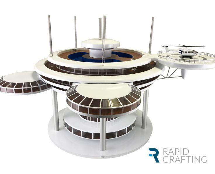 Water Discus Hotel - 3D printing & postprocessing