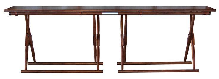 Matthiessen Console - Mid-Century / Modern Transitional Console Tables - Dering…