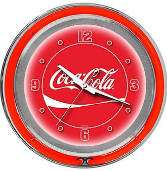 Coca-Cola® Dynamic Ribbon Neon Clock