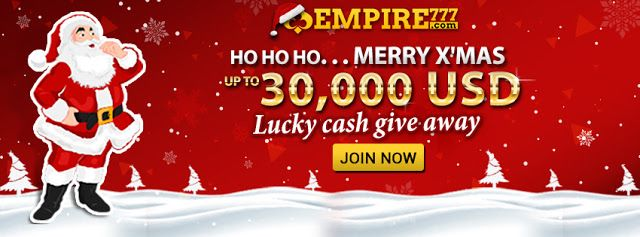 EMPIRE777 Christmas Online Casino Promotion