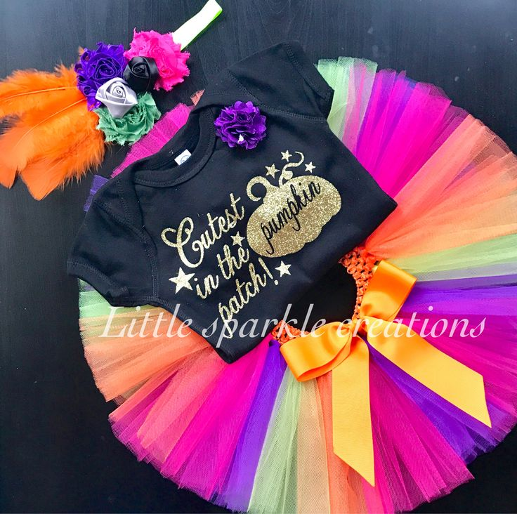 Pumpkin baby girl Outfit , Halloween baby girl outfit, pumpkin birthday outfit girl, 1st Halloween outfit , 1 st Halloween pumpkin Outfit by TutuDesignD on Etsy