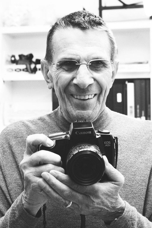 Nimoy and his camera