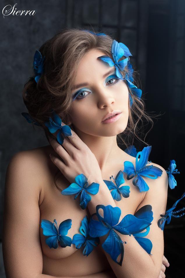 Облако шелковых бабочек - Ярмарка Мастеров - ручная работа, handmade