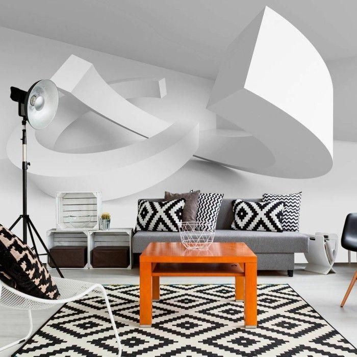 Die besten 25+ Wandgestaltung 3d optik Ideen auf Pinterest - farben im interieur stilvolle ambiente