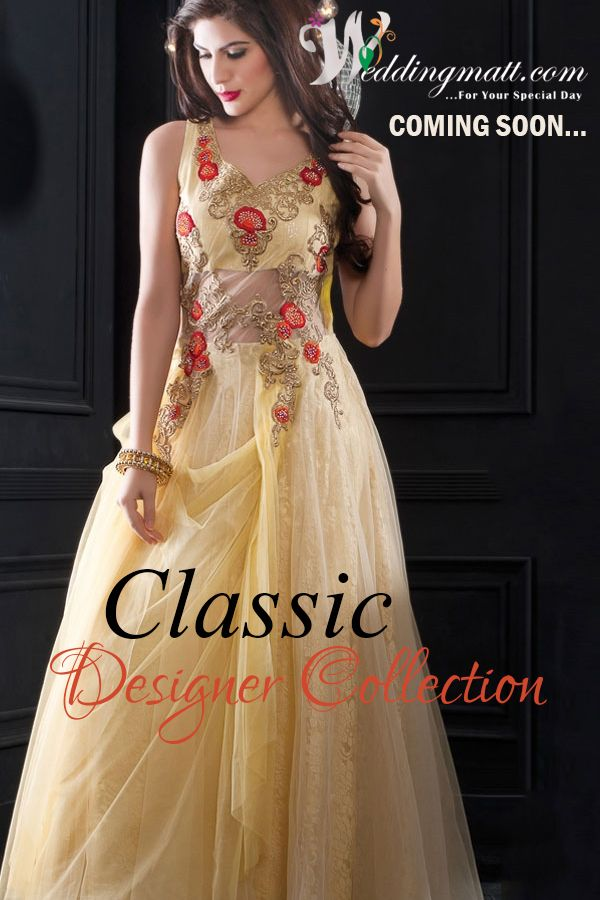 Classic Designer Collections ‪#‎WeddingMatt‬ ‪#‎WeddingCollection‬ ‪#‎DesignerDress‬ Coming Soon:- http://weddingmatt.com/