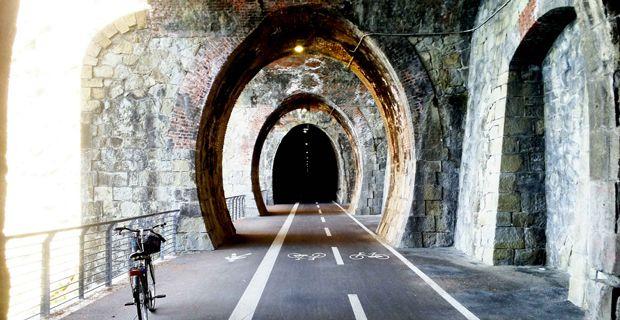 Pista ciclabile su ex tracciato ferroviario. Approvato il progetto in Liguria