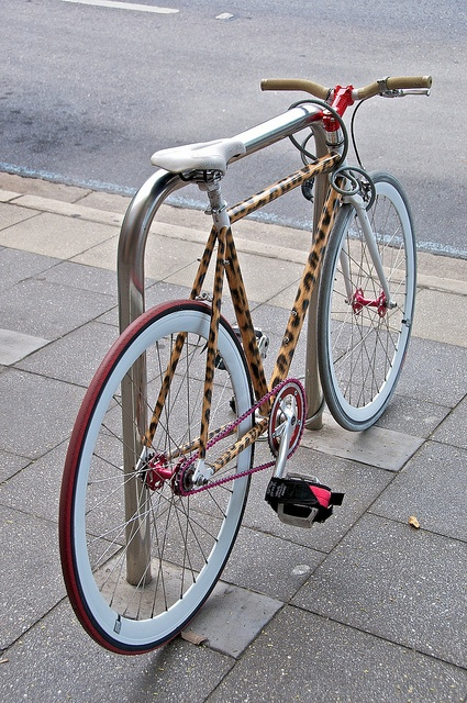 Charmant Leopard Print Bike