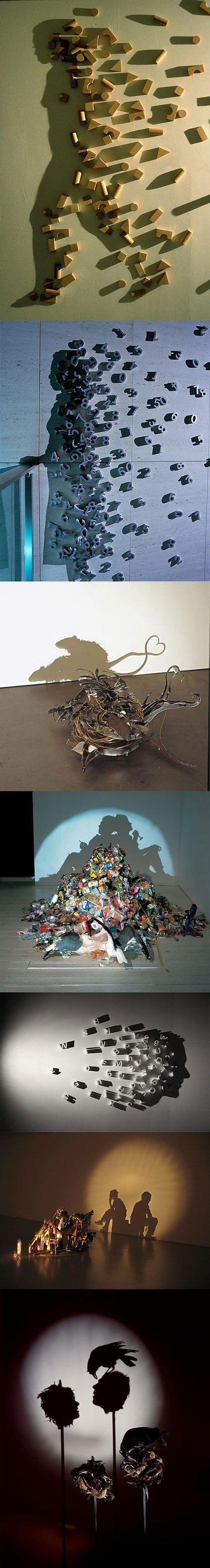 Mind-blowing shadow art.