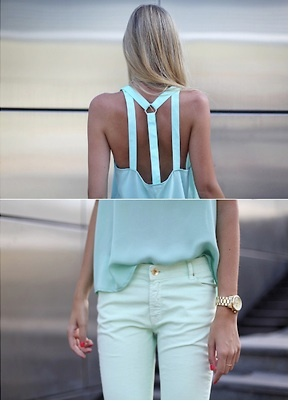 back: Baby Blue, Goals Tops, Clothing, C Mon Spring, Blue White, White Gold, Blog Inspiration, Cool Shirts, Summer Tops