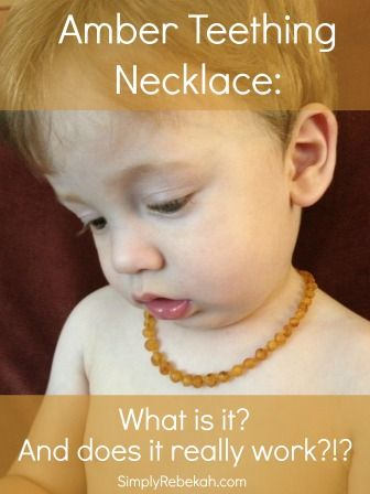 It seems like every crunchy mama I know has a Baltic amber necklace around their baby's neck, but what is it??? Do they really work? Are the babies suppose to chew on them? This post covers all those questions and more.