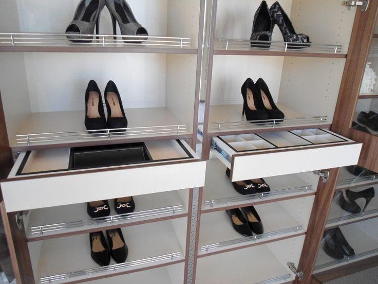 Shoe and Jewellery unique custom designed storage