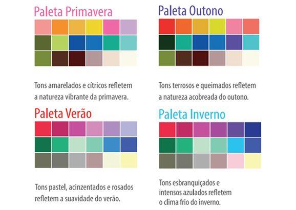 paleta de cores 12 estacoes - Pesquisa Google