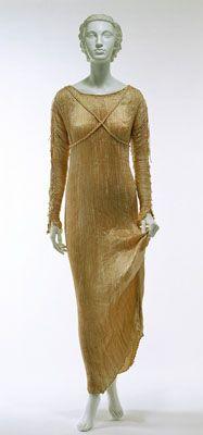 Платье 1920-х годов в стиле ар-деко