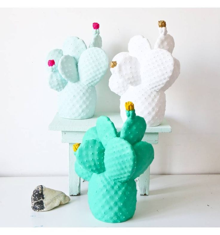 An awesome vinyl cactus lamp hand molded in Spain.Available in 4 colours: Mint & Hot Pink White & Gold Tropical Green & Sunshine YellowThe Cactus Lamp brings an exotic retro botanical feel to any space. Its' inspiration was taken from the Nopal Cactus, whose vivid flowers and colourful form break up even the dustiest plains of Mexico. Producing a warming desert glow, its beautiful design makes for a striking decorative object in any room of your home.Vinyl with no glass bulb...