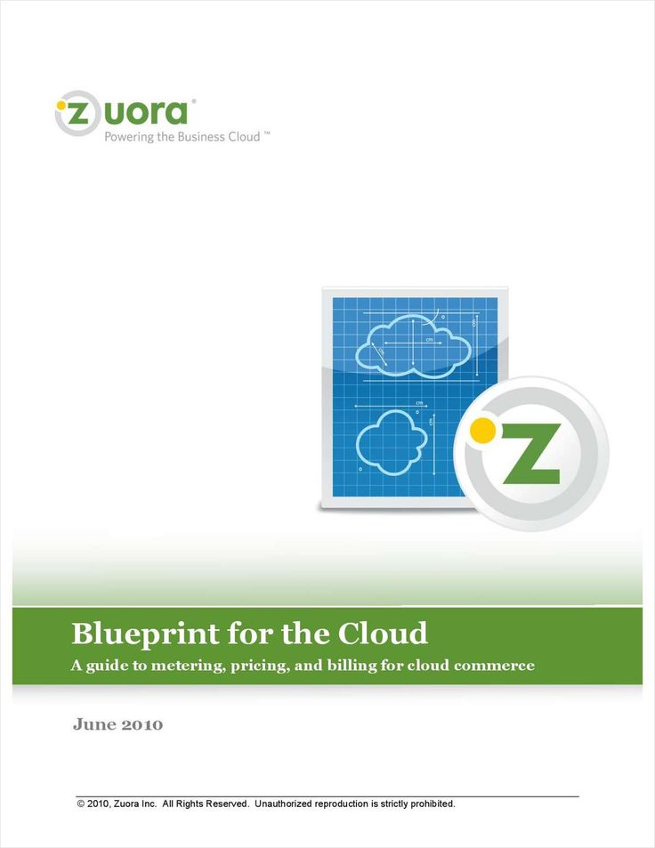 Blueprint for the Cloud