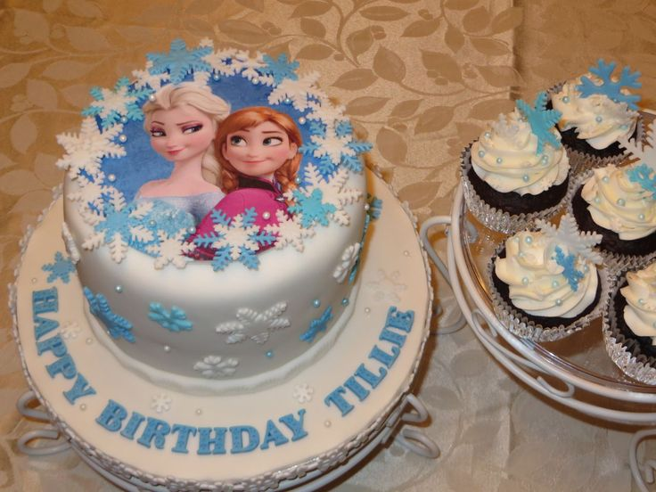 17 Best Ideas About Simple Frozen Cake On Pinterest