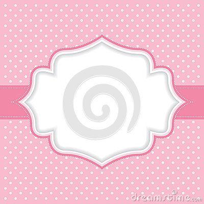 Polka Dot Background Frame Royalty Free Stock Images - Image: 21618149