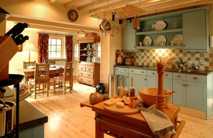 A Scottish Kitchen..love it.