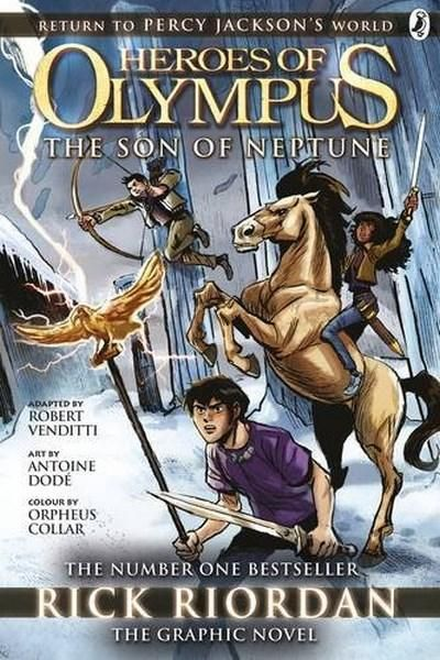 READ GRA F RIO The bestselling Heroes of Olympus title by Percy Jackson creator, Rick Riordan - now in stunning graphic novel form! Percy Jackson, son of Poseidon, has come face to face with two snake-haired ladies who refuse to die