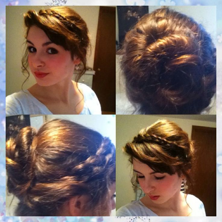 Bridesmaid Hair  Miri Hair  Anna Hairstyle Frozen  Anna Frozen Make UpAnna Frozen Hair Up