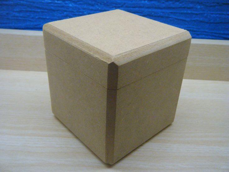 MDF Κουτί 10x10x10cm