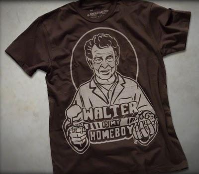 """Walter Bishop Is My Homeboy"" Fringe T-Shirt by Enclothe"