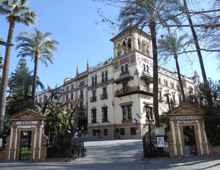 Luxury Hotel Review: Hotel Alfonso XIII Seville, Spain