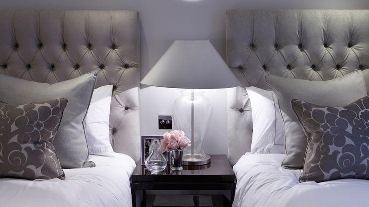 gorgeous grey luxury boutique hotel styling - katharine pooley interiors