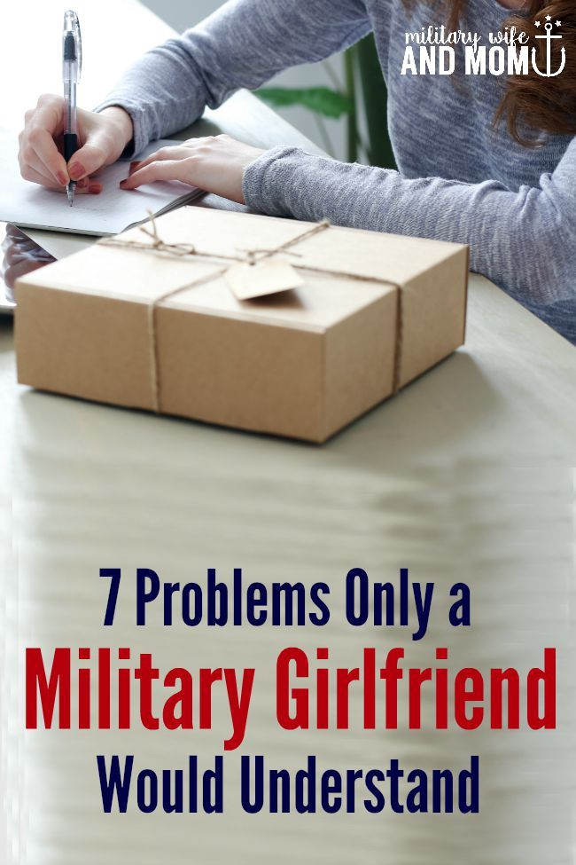 Military girlfriend past or present, these are so true!