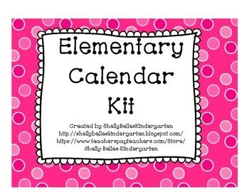 Kit Includes:Numbers for CalendarSpecial Dates Markers with PicturesLabels for Days of WeekLarge Cards for Days of Week and Months of YearTen Frames to count days in schoolSeven posters for recording number of the day (Number Word, Tally Marks, Picture, Ten Frame)**If you would like in a different background, please email me at michellebays@charter.net or contact me here! ***