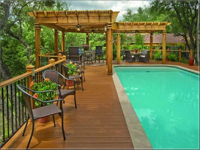 Luxury Backyard Swimming Poolsoval Above Ground Pool Deck 52 best swimming pool ideas images on pinterest   backyard ideas