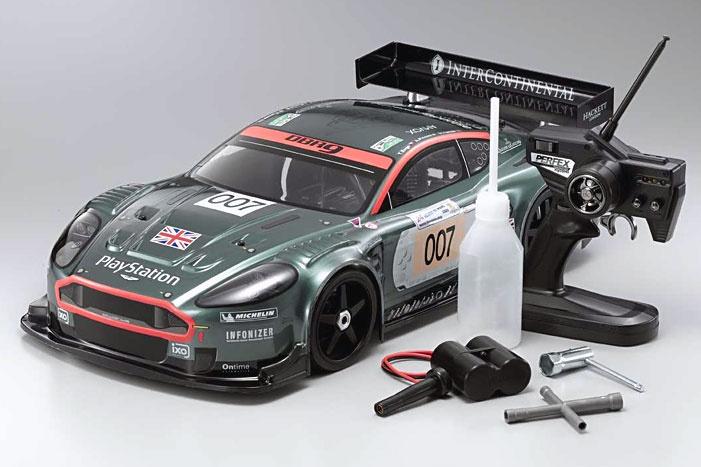 KYOSHO Aston Martin Racing DBR9 31814 1/8 4WD Nitro RC Car