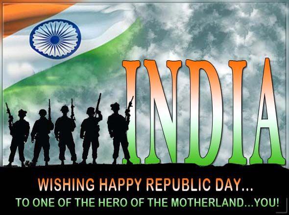 Happy Republic Day India Soldier